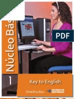 NÚCLEO BÁSICO VOL.1 - KEY TO ENGLISH