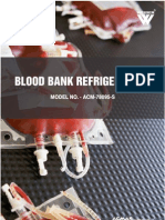 Blood Bank RefrigeratorBlood Bank Refrigeratorss