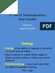 Lecture 1- Thermodynamics