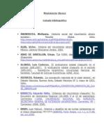 Listado Bibliografico - Movimiento Obrero