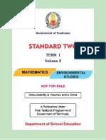 Tamilnadu State Board 2nd standard textbook