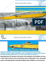 Ease of Material Handling for Production Activities