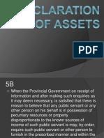 1-4-13 Declaration of Assets