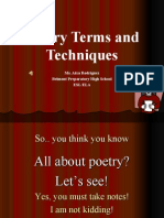 R Poetry Terms