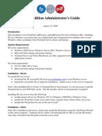 Server Admin Guide