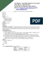3. Biochem Acid Base Electrolytes ABG