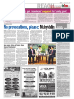 thesun 2009-06-05 page02 no provocations please muhyiddin