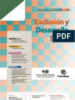 EXCLUSION Y DESARROLLO SOCIAL. Versión digital