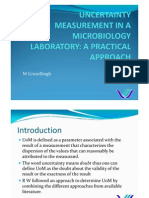 M210 - Uncertainty in a Microbiology Laboratory - A Rand Water Approach