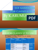 Ppt for Classes Vi to Viii Cce1