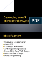 AVR Microcontroller System