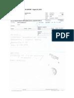 Nalaz - 23 VIII 2013 / Medical Report - August 23, 2013