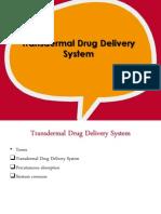 phardose - transdermal drug delivery system