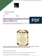 Interpretação do Prefácio da Oração do Pai Nosso – Partes 1 e 2 _ Portal da Teologia.pdf