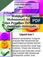 Bab 7 - Mukjizat Nabi Muhammad s.a.w