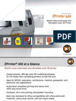 ZPrinter 450 Color 3D Printer