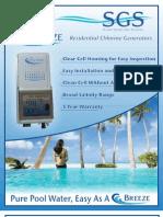 SGS Chlorinator Residential Brochure