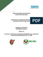 Módulo IV Aplicar el proceso de atención de enfermería en el cuidado a la mujer en la edad reproductiva y el niño.doc