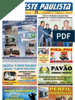 "Jornal ""O Oeste Paulista"" 2013-08-23 nº 4047"