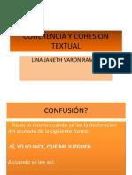 coherenciaycohesiontextualdiapositivas-121006151952-phpapp01