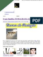 O que Significa TETRAGRAMA SAGRADO _ _ Portal da Teologia.pdf