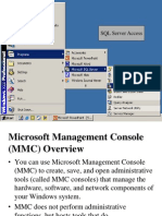 SQL Server Demo1 MMC Concepts