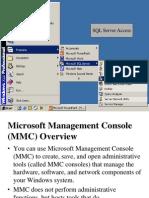 SQL Server Demo1 MMC Concepts