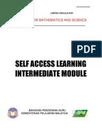 Intermediate Module -3rd