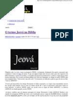 O termo Jeová na Bíblia _ Portal da Teologia.pdf
