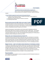 Trade Facilitation Agreement [Fact Sheet]