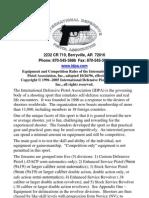 IDPA RuleBook 2005 Final