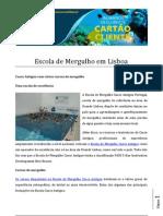 Escola de Mergulho Em Lisboa