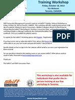 461 Shift Concussion Workshop Webcast 2013 54688