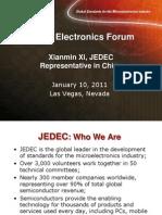 Xianmin Xi JEDEC