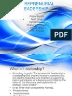 Entreprenurial Leadership