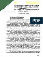 NP 107 - 2004 Epurare ape uzate – P IV Epurare avansata