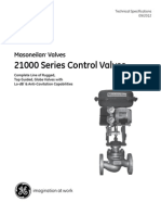 Masonielan 21000 Technical Specification 2012-09