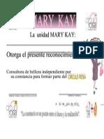 Diploma Mary Key