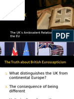The UK's Ambivalent Relationship with the EU