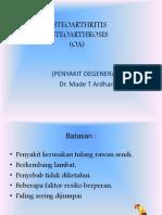 OSTEOARTRITIS baru