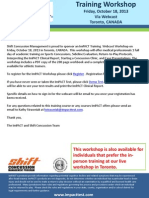 461 Shift Concussion Workshop Webcast 2013 72581