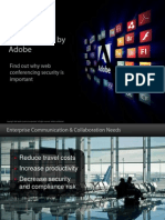 Secure Web Conferencing With Adobe Acrobat Connect Pro