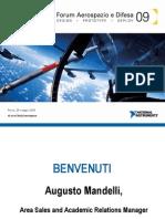 Forum Aerospazio e Difesa - Benvenuto