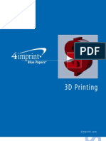 3D Printing Blue Paper by promotional products retailer 4imprint