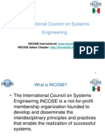 Il Systems Engineering in Italia