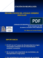 Rehabilitacion Del Acv Accidente Cerebrovascular