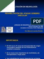 Rehabilitacion Del Acv Accidente Cerebrovascular