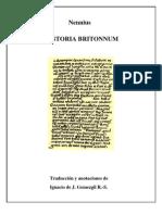 HISTORIA BRITTONUM  de Nennius, Edición Preliminar
