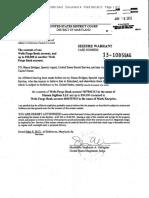 Mt. Gox - Wells Fargo Seizure Warrants