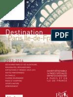 Guide Destination Paris Ile de France 2013 2014 FR